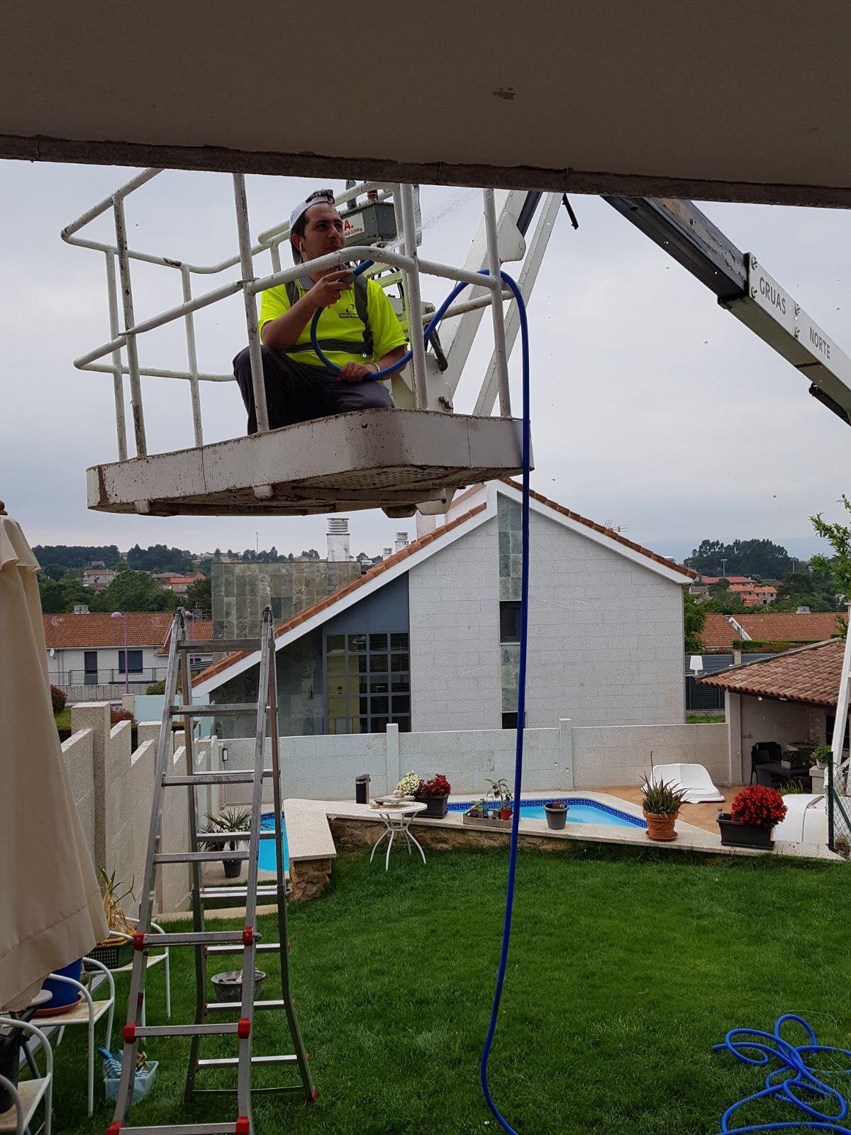 Reforma de vivienda. Cornazo. Vilagarcía de Arousa. Pontevedra