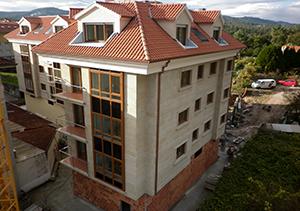 Viviendas en la Avda. de la Mahía 107 – BERTAMIRÁNS. A Coruña