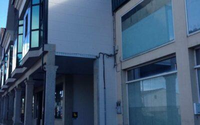Mantenimiento de Fachada de edificio en Os Anxeles. Brión.