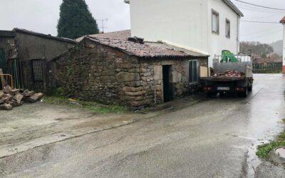 Rehabilitación de vivienda de mampostería granítica en Cobas Negreira