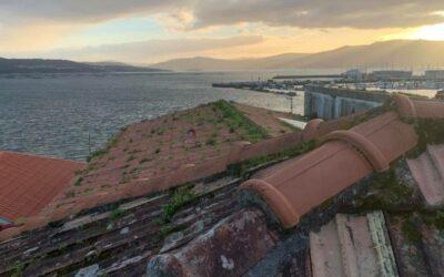 Cambio de tejado en Muros. A Coruña